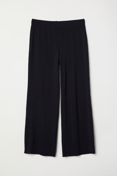 Ankle-length trousers - Black - Ladies | H&M CN