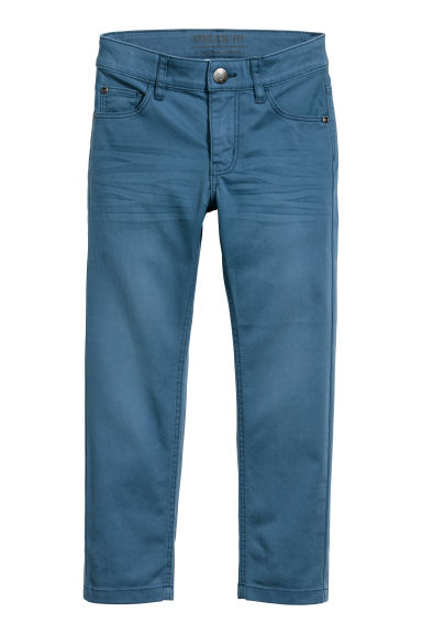 Pantalon stretch - Bleu -  | H&M FR