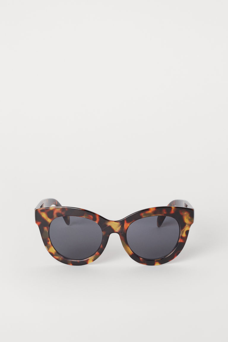 Sunglasses - Brown/Tortoiseshell-patterned - Ladies | H&M GB