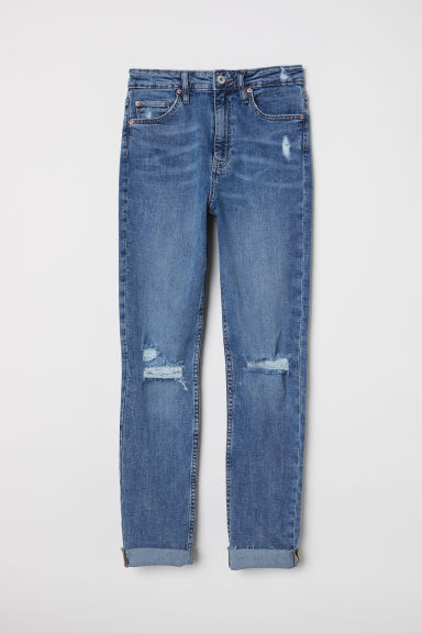 Skinny High Waist Jeans - Denim blue - Ladies | H&M