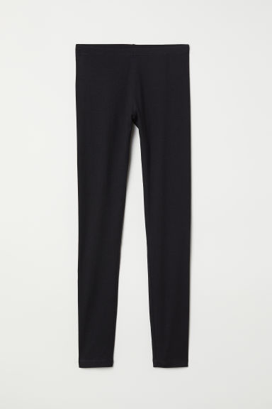 Jersey leggings - Black - Ladies | H&M
