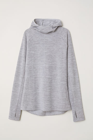 Running top - Light grey - Ladies | H&M CN
