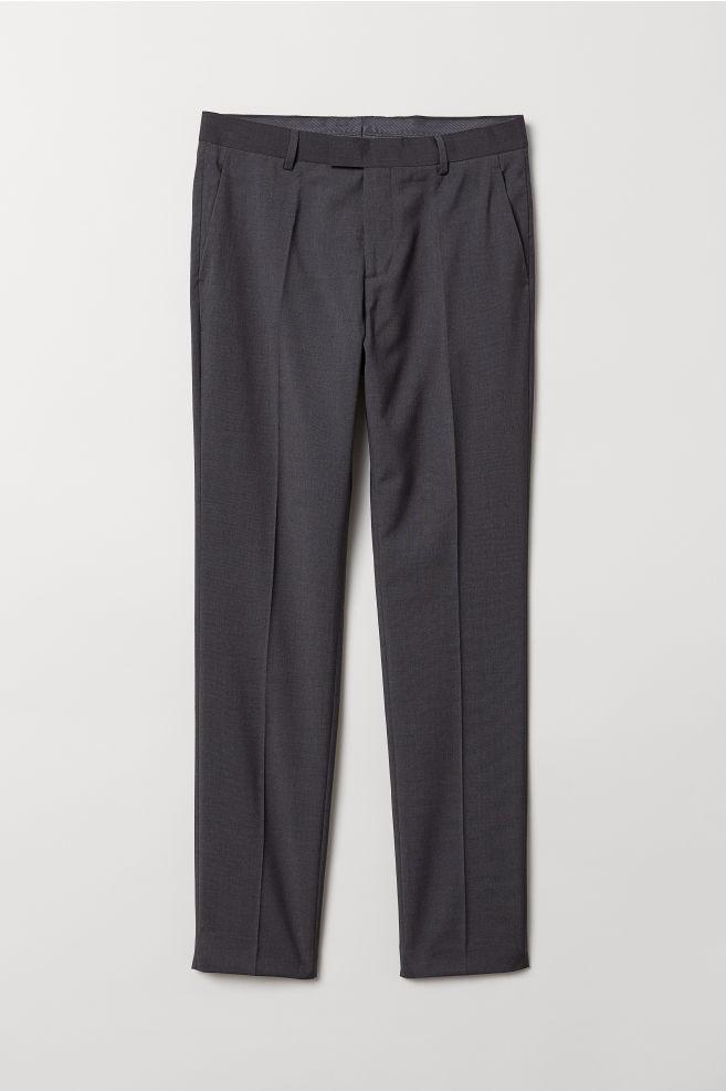 Dark Grey Suit Pants MfDd