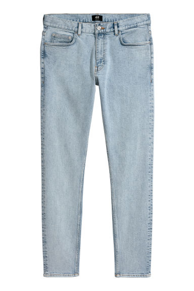 Skinny Regular Jeans - Light denim blue - Men | H&M