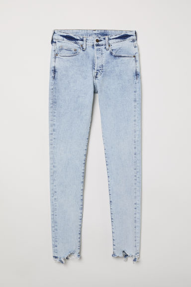 Skinny Jeans - Light blue/Washed - Men | H&M