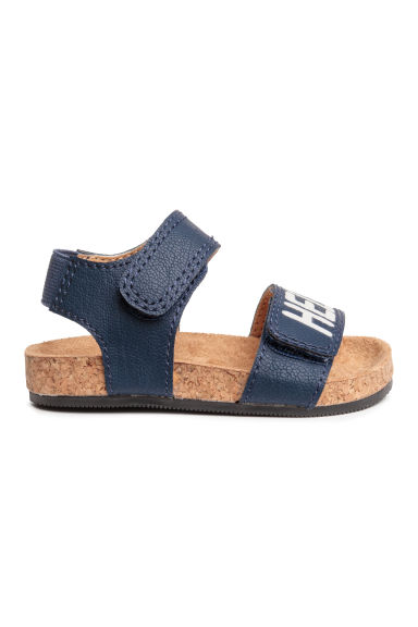 Sandals - Dark blue/Hello - Kids | H&M