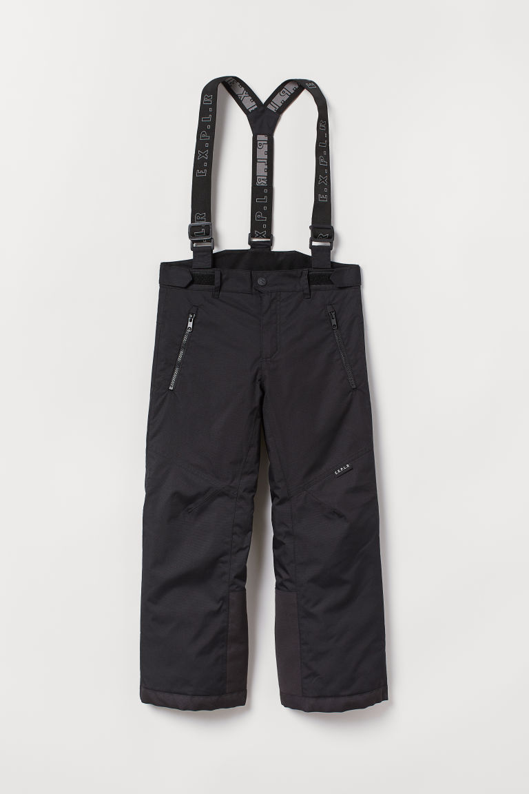 Ski trousers - Black - Kids | H&M CN