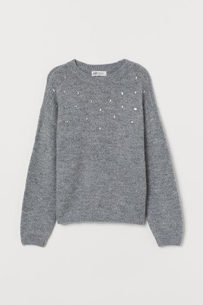Knitted jumperModel