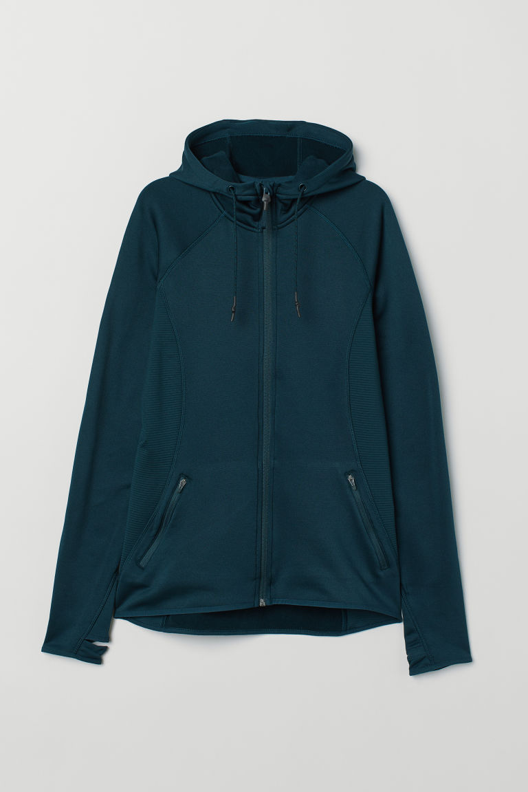 Outdoor jacket - Dark petrol - Ladies | H&M CN