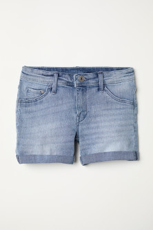 Shorts in denim