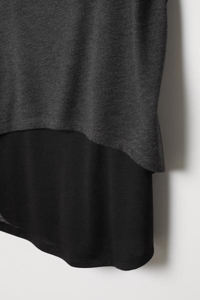 H&M - Doppellagiges Sportshirt - 6