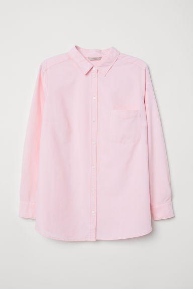 H&M+ Shirt - Light pink - Ladies | H&M CN