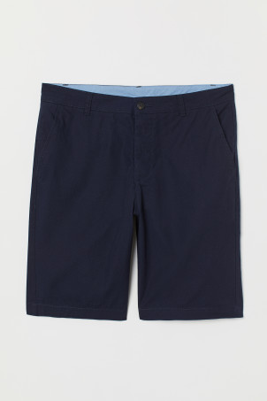 Knee-length Cotton ShortsModel