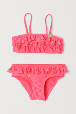 Badpak Maat 92.Zwemkleding Meisjes Maat 92 140 Shop Online H M Nl