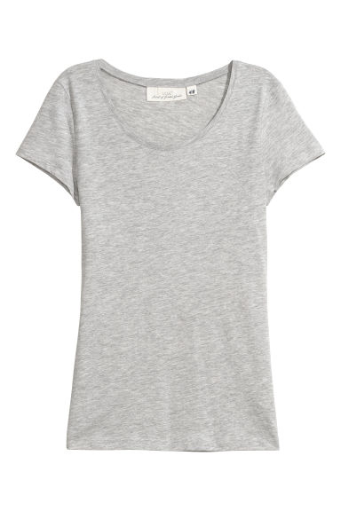2-pack short-sleeved tops - Dark blue/Grey -  | H&M CN