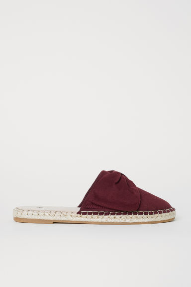 Mules - Dark red -  | H&M CN