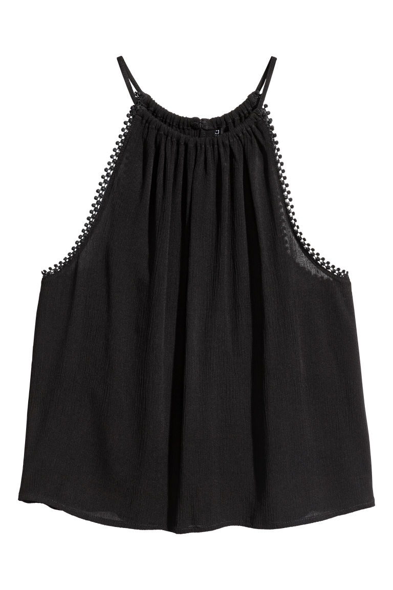 Top goffrato - Nero -  | H&M IT