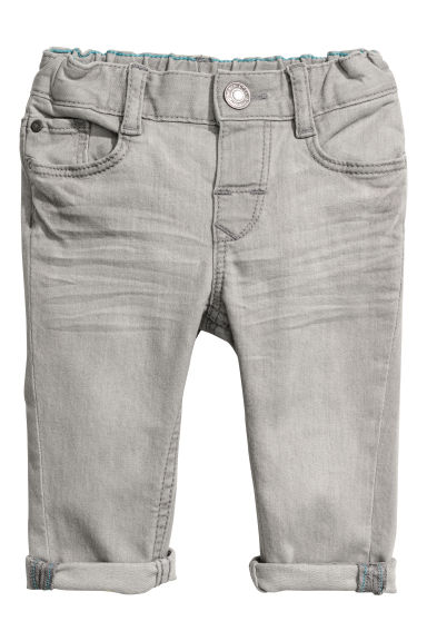 Slim Fit Jeans - Light grey - Kids | H&M