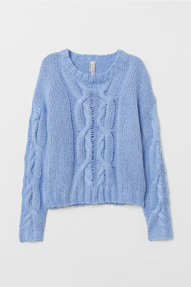 cfd6e3e3583 Cable-knit Sweater