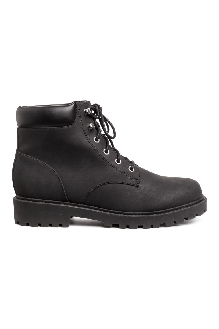 Pile-lined boots - Black - Ladies | H&M