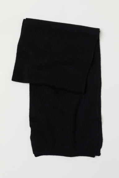 Cashmere scarf - Black - Men | H&M CN