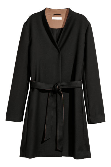 Cappotto corto - Nero - DONNA | H&M IT