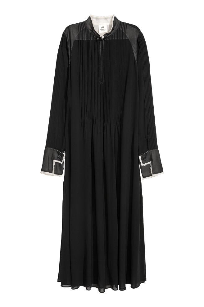 ea87f4a48d Chiffon kaftan dress - Black - Ladies