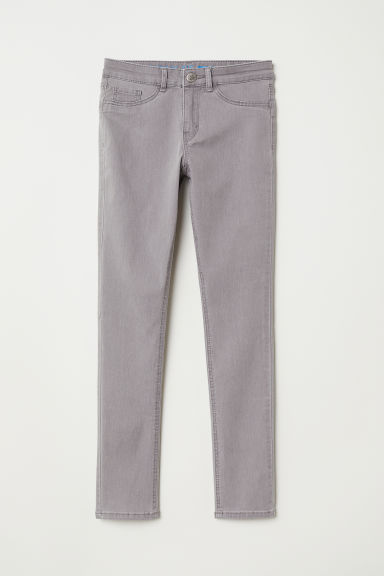 Superstretch trousers - Light grey - Kids | H&M CN