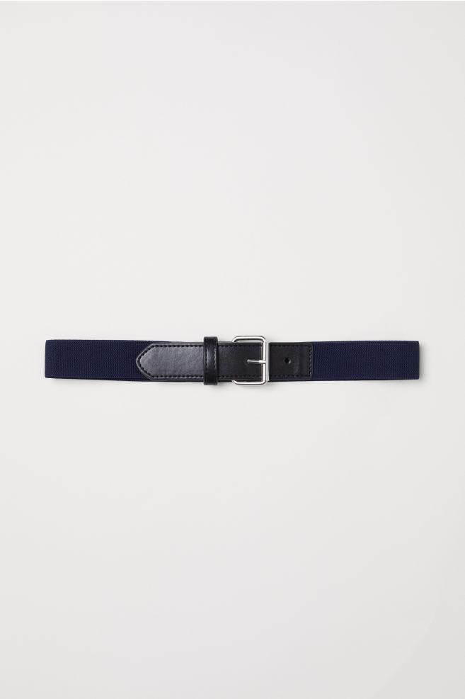 f433cad0e9d5 Elasztikus öv - Sötétkék/fekete - | H&M ...