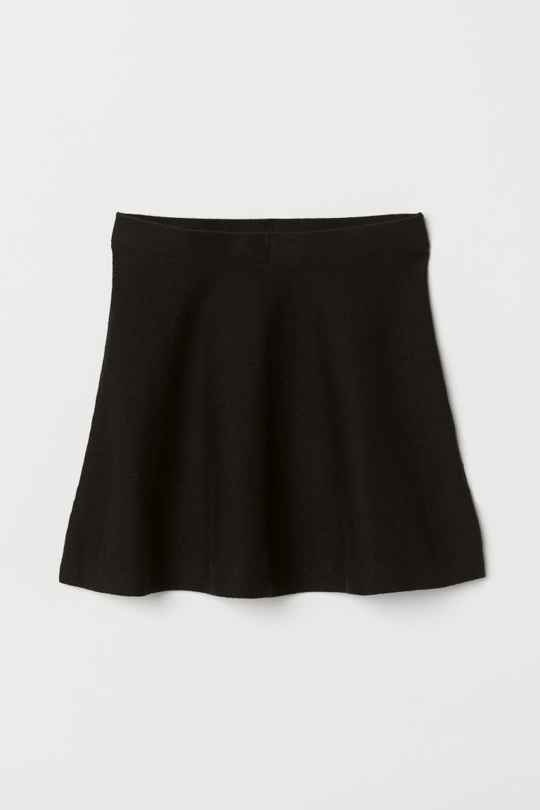 Bell-shaped skirt - Black - Kids | H&M CN
