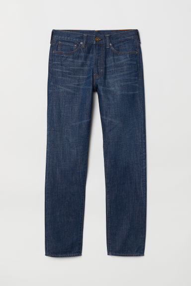 Straight Jeans - Blu denim scuro -  | H&M IT