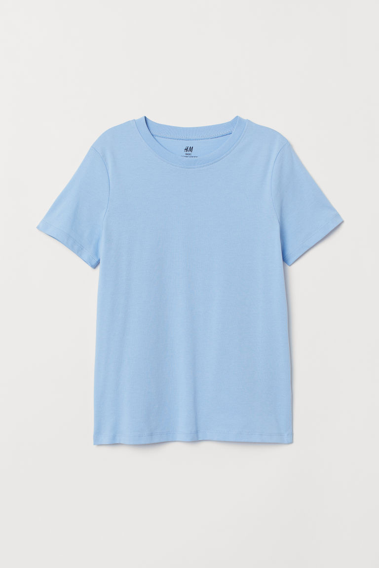 T-shirt - Light blue - Kids | H&M CN