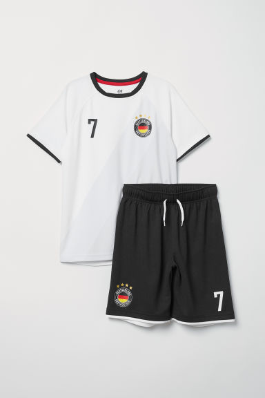 Football set - White/Germany - Kids | H&M CN