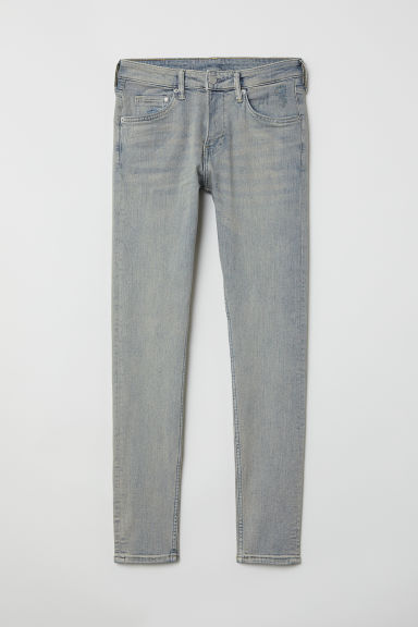 Super Skinny Jeans - Light denim blue/Trashed - Men | H&M