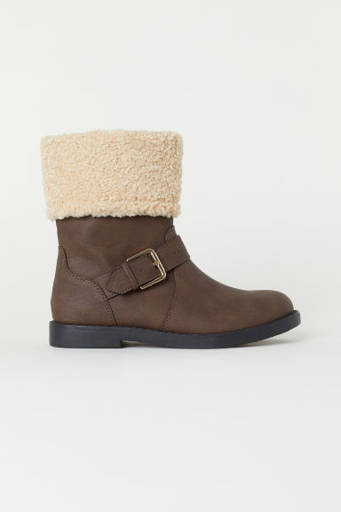 Boots - Dark brown -  | H&M CN