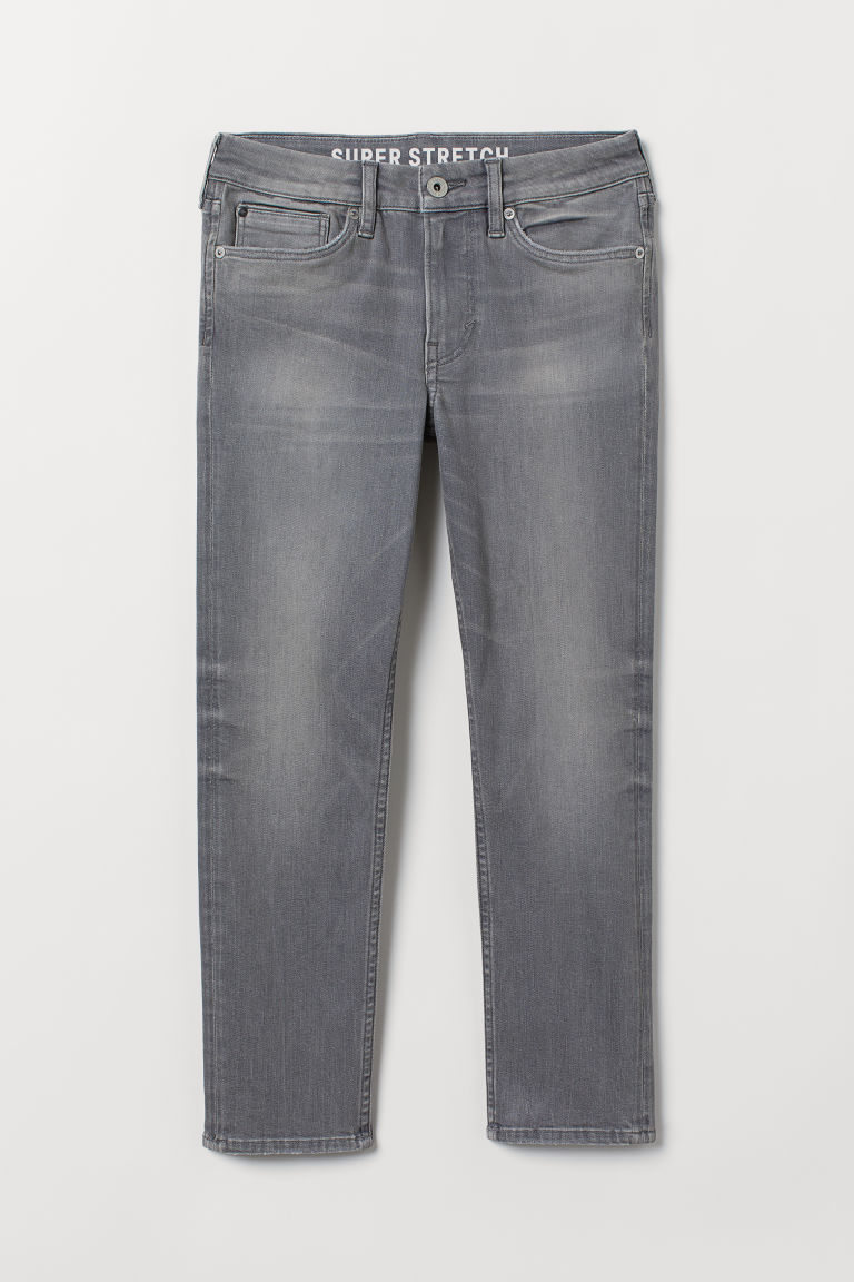 Superstretch Skinny Fit Jeans - Gris claro - Kids | H&M MX