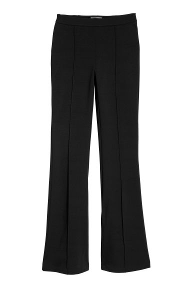 Flared trousers - Black -  | H&M