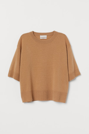Fine-knit Cashmere Sweater