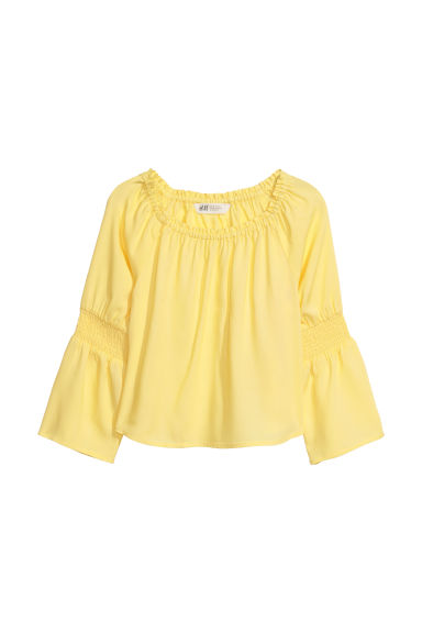 Top - Yellow -  | H&M CN