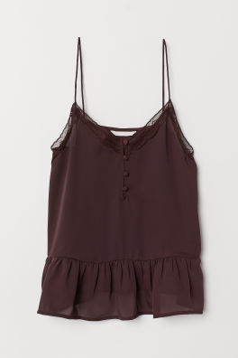 3c0937bb8ae28 V-neck Camisole Top