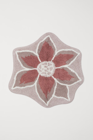 Flower-shaped Bath Mat