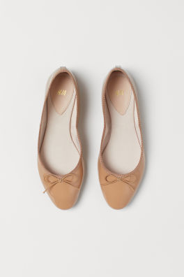 ace1ff073 Ballet Flats & Loafers For Women | Flat Shoes | H&M US