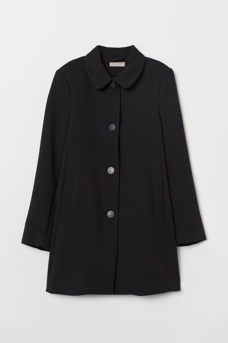 Short coat - Black - Ladies | H&M