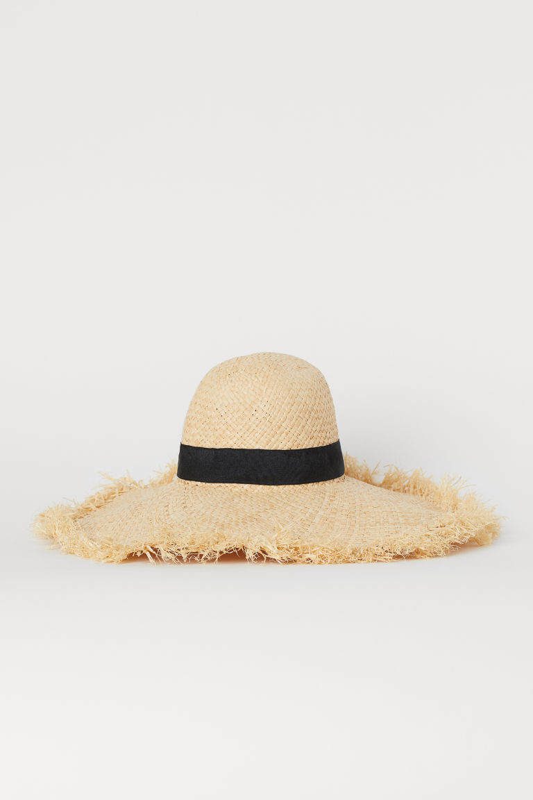 Paper Straw Sun Hat - Light beige - Ladies | H&M US