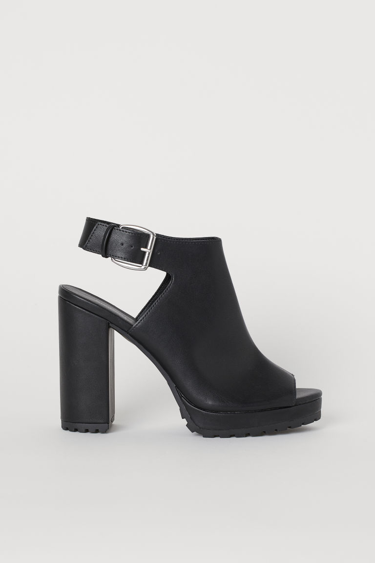 Chunky-soled sandals - Black -  | H&M GB