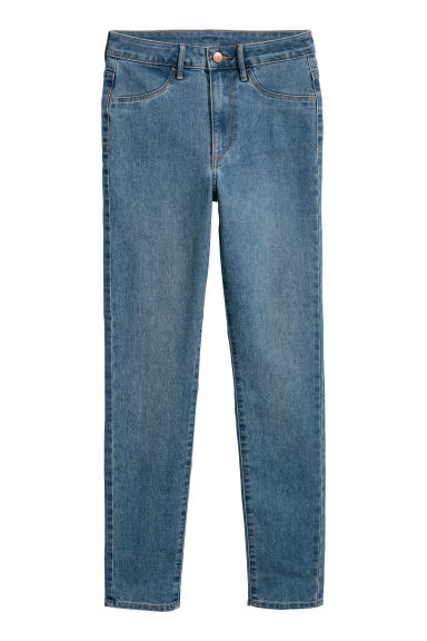 Skinny High Ankle Jeans - Denimblauw - DAMES | H&M BE