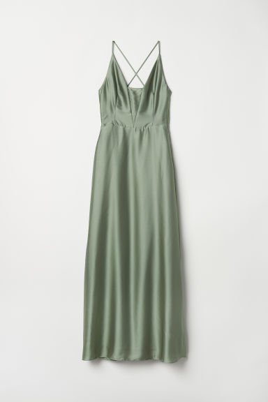Maxi dress - Dusky green - Ladies | H&M