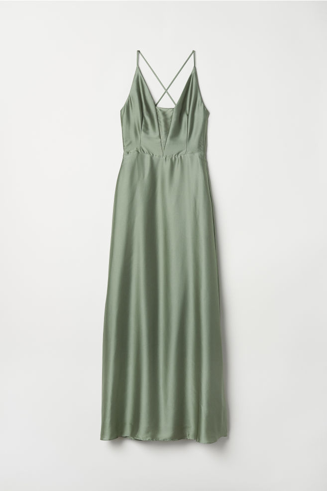 f4324239051 Maxi Dress - Dusky green - Ladies