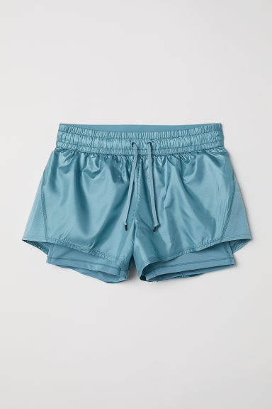 Loopshort - Turkoois -  | H&M BE