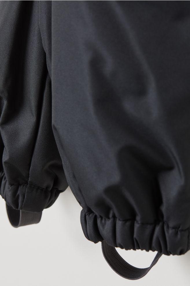 ef8980314fdf Snow Pants with Suspenders - Black - Kids
